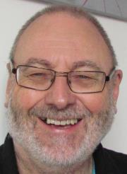 Photo of sci-fi author Jim Costello